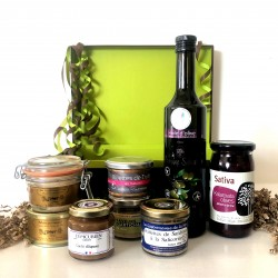Coffret Huile d'Olive de Provence & Foie Gras