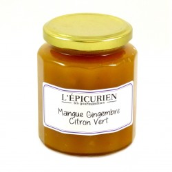Confiture Mangue Gingembre Citron