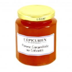 Confiture de Pomme Caramélisée au Calvados