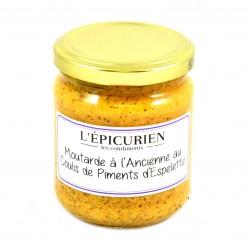 Moutarde au Piments d'Espelette