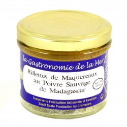 Rillettes de Maquereaux au Poivre de Madagascar - Origine Bretagne