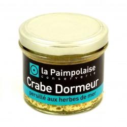 Crabe Dormeur Aux Herbres de Mer