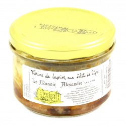 Terrine de Lapin Cèpes