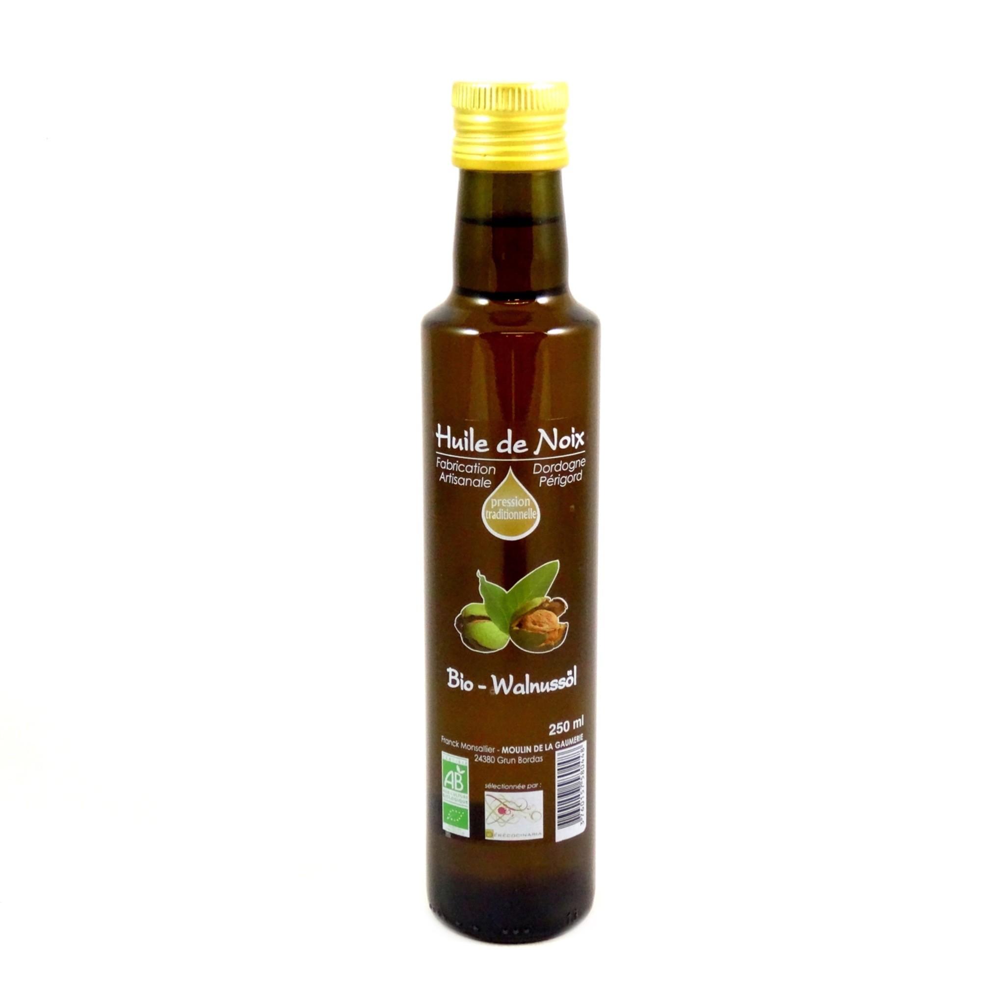 huile de noix 100 francaise