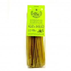 Pâtes Artisanales Linguine - Ail & Basilic