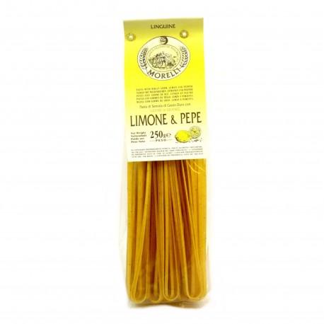 Pâtes Artisanales Linguine - Citron & Poivre