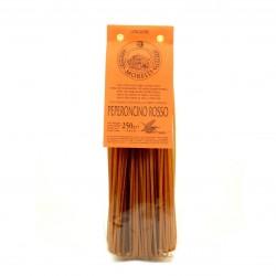 Pâtes Artisanales Linguine - Piment Rouge