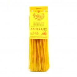 Pâtes Italiennes Artisanales - Linguine Safran - Fabrication à la Main