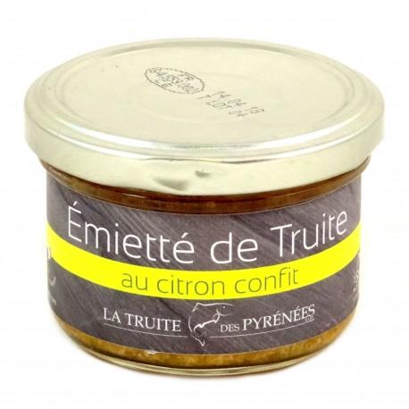 Truite des Pyrénées Citron Confit