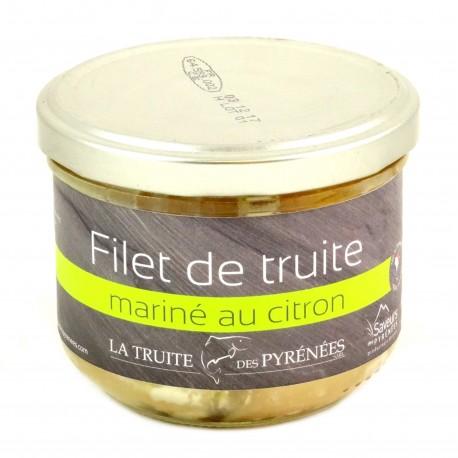 Filets de Truite Marinées au Citron