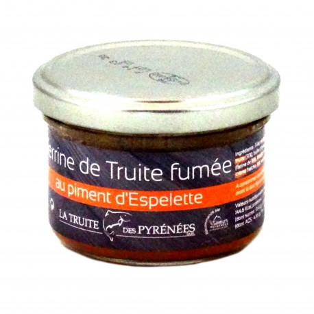 Terrine Truite des Pyrénées Fumée