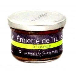 Truite des Pyrénées Oseille