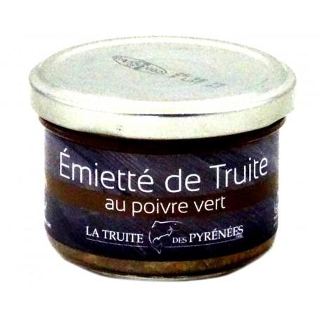 Truite des Pyrénées Poivre Vert