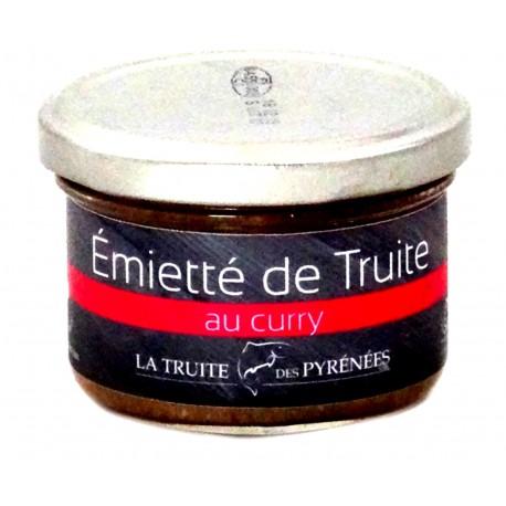 Truite des Pyrénées Curry